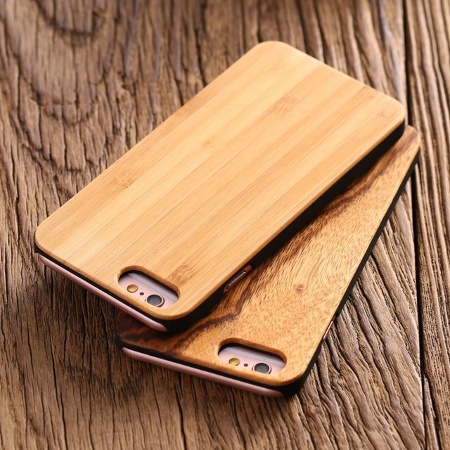 Real Wood Case for iPhone 5/ 5S /SE /6 /6S/ 7 Plus /Samsung  S7