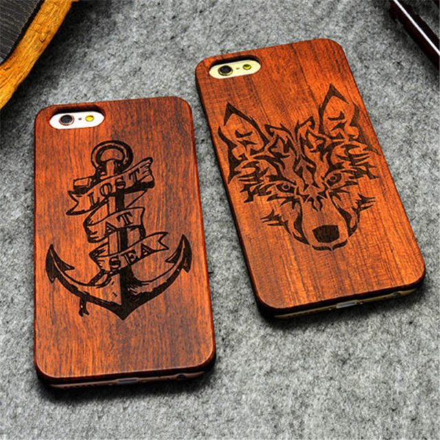 Super cool Wooden Cases for iPhone 6s/ SE/ 5S/ 7 /7 Plus/