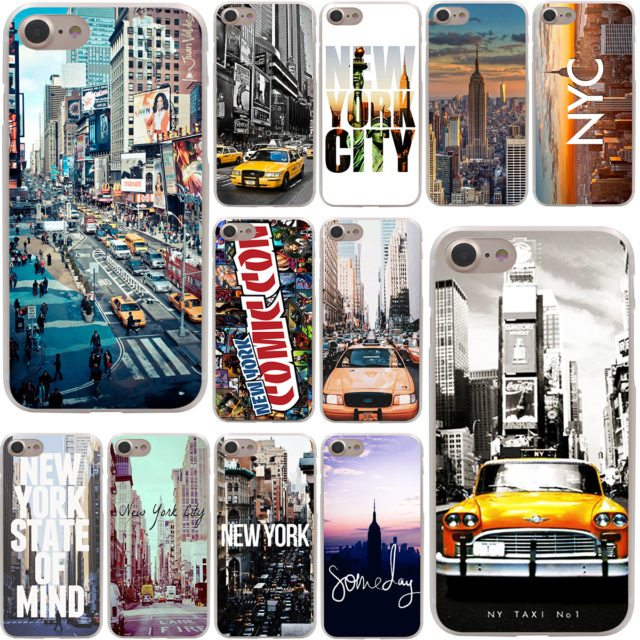 NY City Hard Cases  for iPhone 7/ 7 Plus/ 6/6s /Plus/ 5/ 5S/ SE/ 5C/ 4 /4S