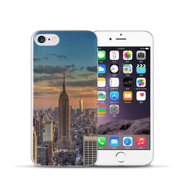 Cool Places Case for iPhone 5/ 5S /SE 5C /6 / 7 S Plus