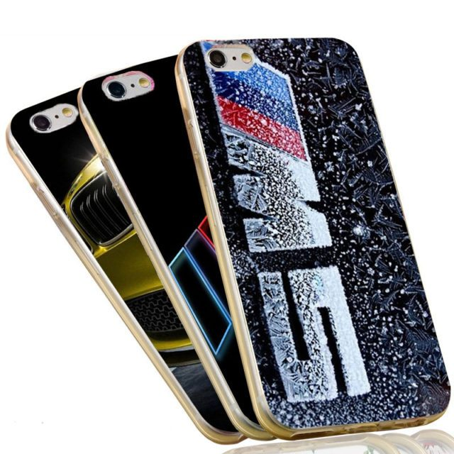Ultra Thin Crystal Phone Case For BMW – iPhone 7 /6 6S Plus /4 4S/ 5C 5 SE 5S/
