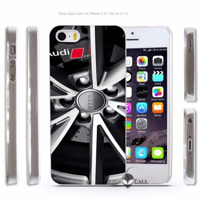Hot Sale Audi RS Hard Phone Case for iPhone 4 4s /5 5s SE 5C/ 6 6s /7 Plus