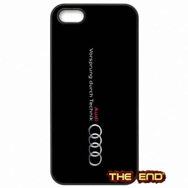 Awesome RS Audi Logo – Cases for  iPod Touch 4-6/ iPhone 4 4S/ 5 5C SE /6 6S /7 Plus