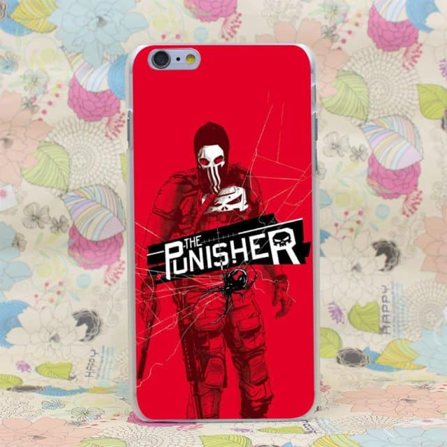 Great Punisher Hard  Case for iPhone 7 7 Plus /6 6S Plus /5 5S SE 5C 4 4S/