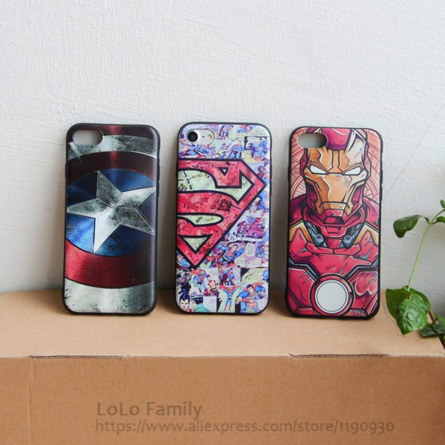 Super Marvel Characters for iPhone 7 7plus /5 5s /6 6s plus