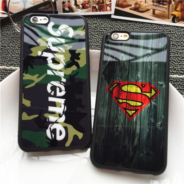 Retro Camouflage Supreme Mirror Case for iPhone 7 7 plus/ 6 6s SE 5S
