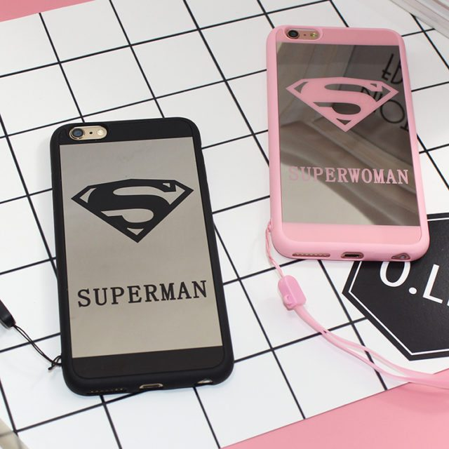 For Her and For Him – Super Heroes case for iphone 5 5s/6 6s / 7 plus