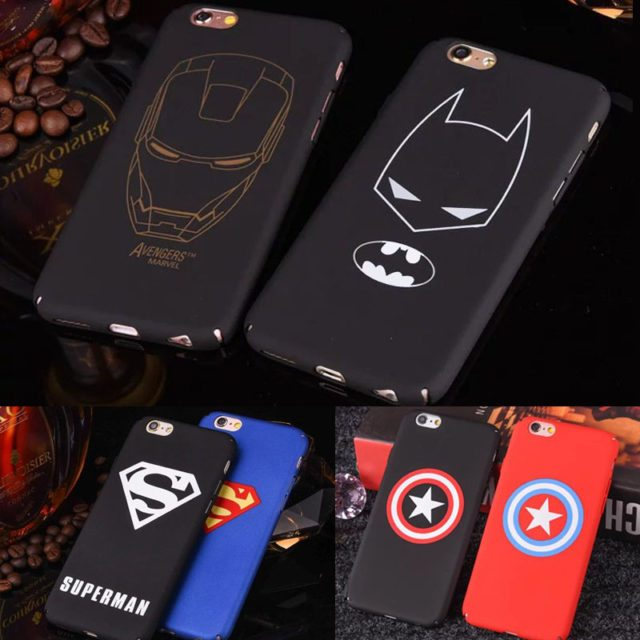 Marvel Avengers, Batman ,Superman, Shield ,- Case For iphone 6S Plus 6 /7 Plus /5 5S