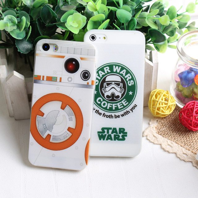 Cool Stars War Pattern cases for Iphone 4/ 4S /5 5S SE /6 6S /7/ 7Plus