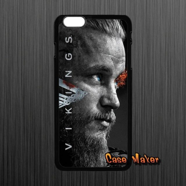 Vikings Season 3 TV Series Case  For iPhone 4 4S 5 5C SE/ 6 6S 7 /Plus/ iPod Touch 4-6