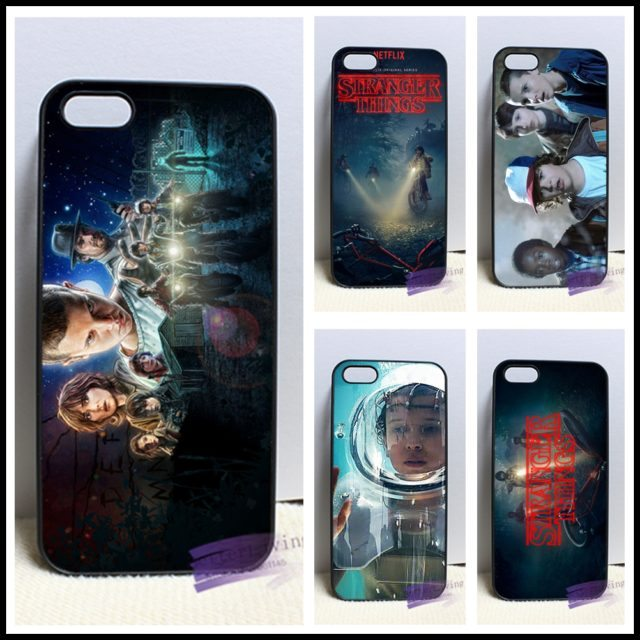 Stranger Things phone case for iphone 4 4s /5 5s 5c SE /6 6s plus/ 7 plus