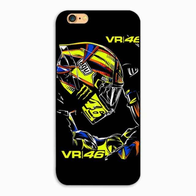 The Doctor Racing Legend – Valentino Rossi Hard  Case  For  iPhone 4 4S / 5S SE 5c/ 6 6 S Plus 7/7plus