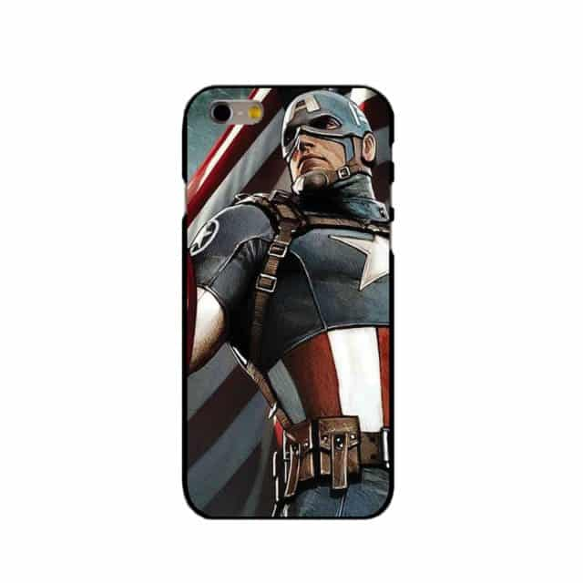 (New) Cool Deadpool,Captain America,iron Man, Cases For iPhone 4 4S/ 5 5S SE 5C /6 6S 7 Plus