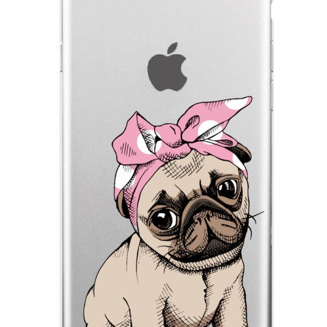 Cute Puppy Pug, Cats Cases For iPhone 7 7Plus /6 6S /6Plus Samsung/