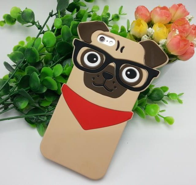 3D Cute SharPei Case For iPhone 5 5s / 6 6s