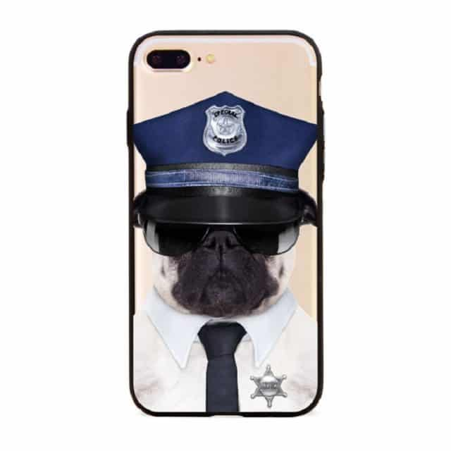 Fashion Handsome Dog Cases For iphone 6 6S 6 Plus/ 5 5S / 7 7Plus