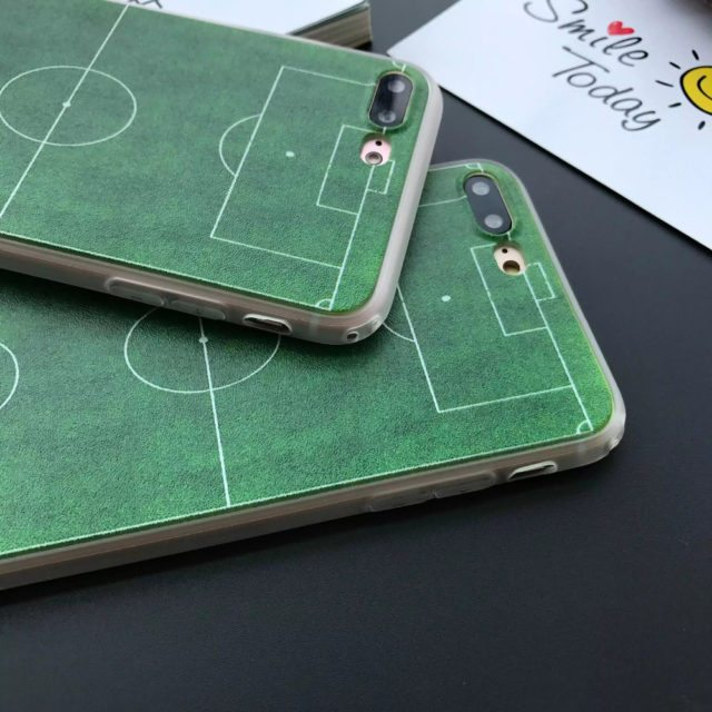 Cool Soccer Field for iPhone 6 s 6 6 plus /5 5s se / 7 7 plus
