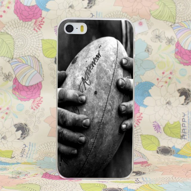 Cool Rugby Hard Case Cover for iPhone 4 4s/ 5 5s SE 5C /6 6s Plus/ 7 7 Plus