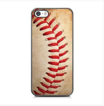 Vintage Baseball Case for iPhone 4 4S /5 5S 5C /6 Plus/Samsung A3 A5 A7 E5 E7 S3 S4 S5 Mini S6 Edge Note 2 3 4