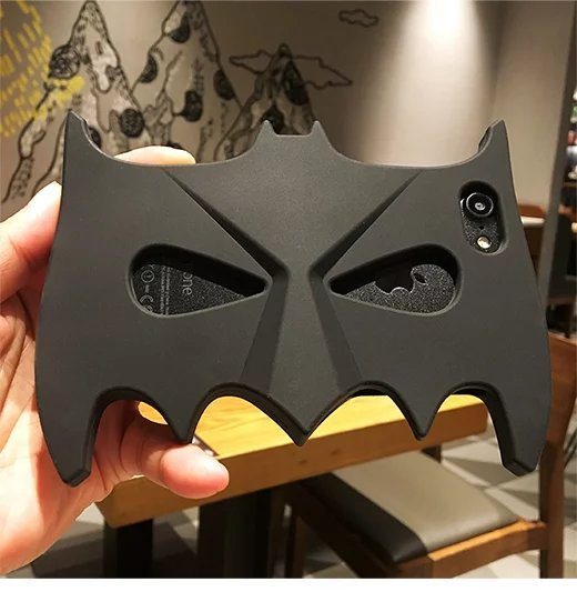 Super Cool 3D Cartoon Batman Mask-  Case For iPhone 7 6 6S Plus 5 5S SE