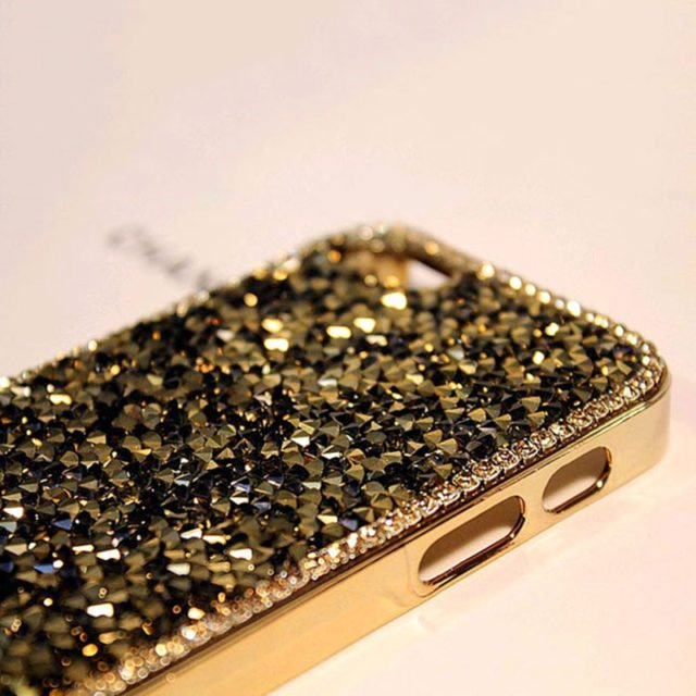Luxury Bling Crystal Diamond Case for iphone 5 5S SE