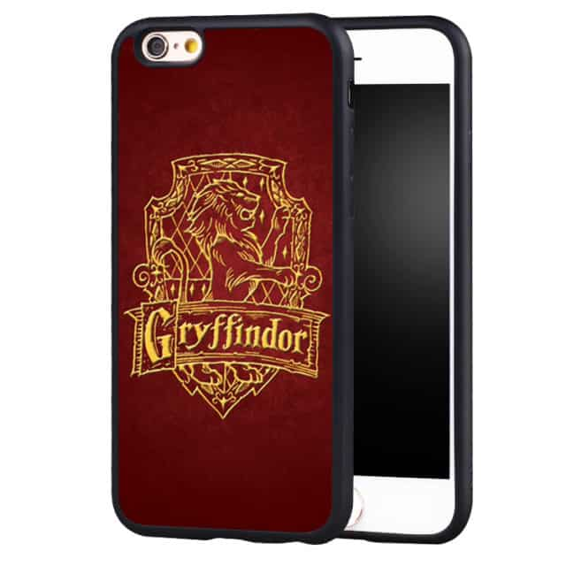 Super Gryffindor Printed Soft Case For iPhone 6 6S Plus SE /5 5S 5C /4 4S /