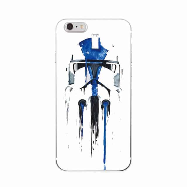 Cool Star Wars Characters – Soft Phone Cases For iPhone 7Plus 7 /6Plus 6 S /5 S 5C /4S SE