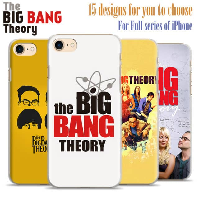 The Big Bang Theory-Hard  Case For  iPhone 7 7plus /6 6s plus 5 5s se