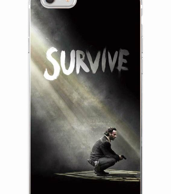 The Walking Dead – Soft Phone Cases  For iPhone 7 7Plus/ 6 6S 6Plus /5 5S SE 5C 4 GALAXY
