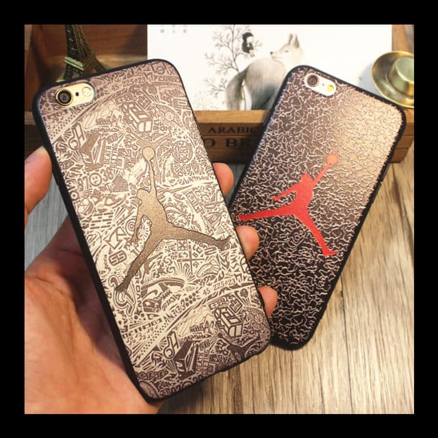 Air Jordan Soft TPU Cover For iPhone SE 5 5S /6 6S 6Plus/ 7 7Plus