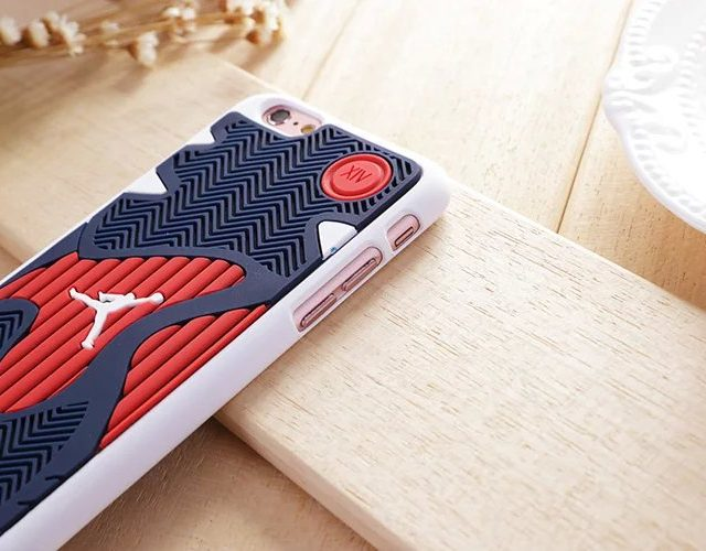 NBA Air Jordan Shoe Sole Rubber Cases For  iPhone 6 6s s plus
