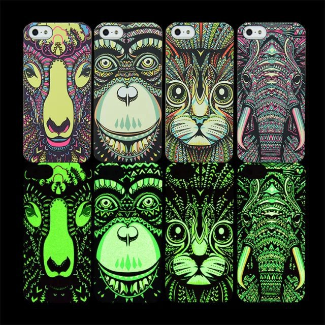 King Animals – Luminous Cases for iphone5 5s /6 6plus /7 7plus