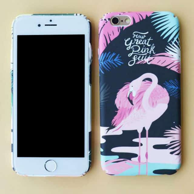 Flamingo Colorful Hard Case For iPhone 6 6Plus 6s 6s/ 7Plus
