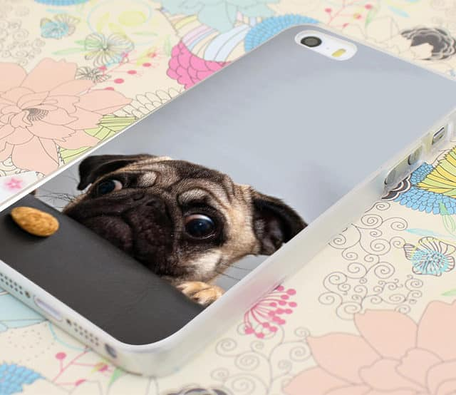 Cutest Pug Case  for iPhone 4 4s /5 5s SE 5C /6 6s Plus 7 7 Plus