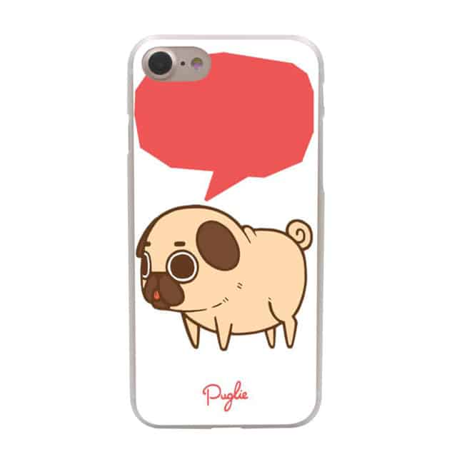 Cool Piper the Pug designs – Hard Case for iPhone 7 7 Plus /6 6S Plus /5 5S SE 5C /4 4S