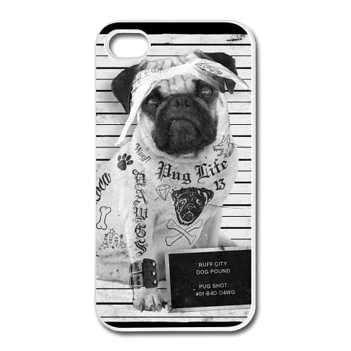 Pug Life – Cool phone Case for iPhone 4S /5 5S 5C /6 6S / Samsung Galaxy S3-5 /Mini /S6 Edge /A3 A5 A7 /Note 2-5
