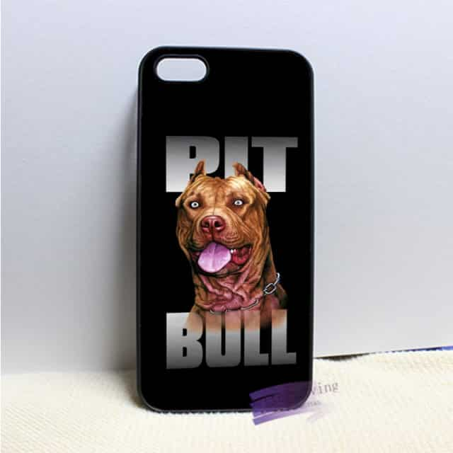 Awesome Pitbull Phone Case  for iphone 4 4s /5 5s 5c /SE 6 6s plus /7 plus