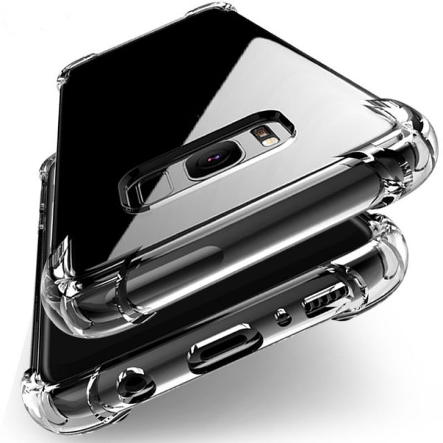 Shockproof Clear Silicone Case For Samsung Galaxy