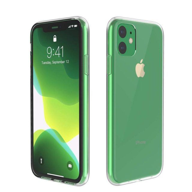 Transparent Silicone Case for iPhone 11